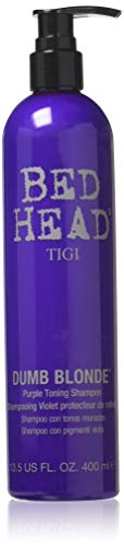 Tigi Bed Head Dumb Blonde Shampoo 400ml Tonique Viol