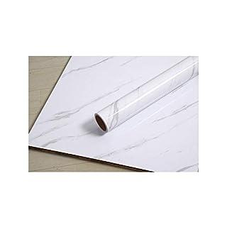 JLCorp Pure White Pure Black Grain Wood Textured Contact Paper Vinyl Film Self-Adhesive Wallpaper Shelf Liner Drawer Liner Peel-Stick Countertop Sticker (Gray Stripes)