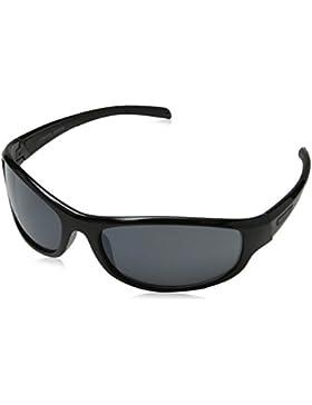 Eyelevel JET, Gafas de Sol para Hombre, Negro (Black/Grey Lens), 65