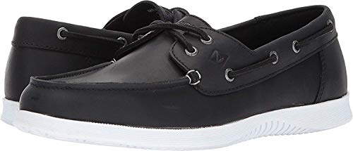 Sperry Men's Defender 2-Eye Black 10.5 M US Eye Moc