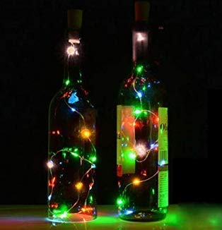 ANKK0 Lanterne cuivre cuivre LED
