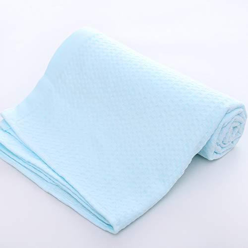 Anti-frizz-lösungen (UKE 100% Baumwolle strukturiertes Badetuch, Anti Frizz Absorbent Premium Cotton Badetuch 70 * 14cm für Bad Schwimmen Fitness Sport Yoga,B)