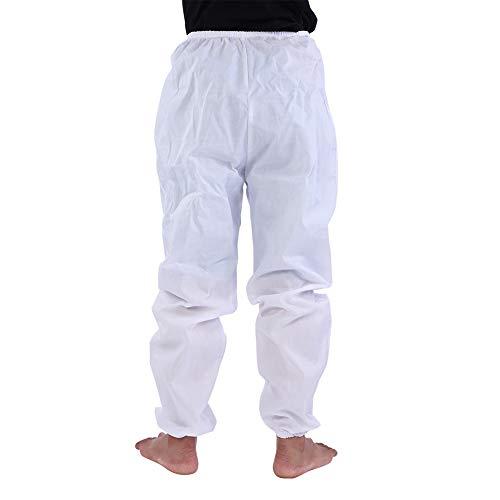 Aufee Bee Suit, Professional Imker Total Schutzanzug Imkertuch Ausrüstung Kapuzenjacke + Runder Hut + Hose Schleier Overall