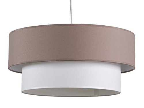 maison-lune-42288-lampe-de-plafond-double-ecran-texture-couleur-marron-et-blanc