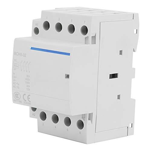 Haushalts-Wechselstrom-Kontaktgeber, 4P 4NO 32A 24V / 230V 50 / 60Hz Kontaktgeber-industrieller elektrischer Kontaktgeber(AC24V) -