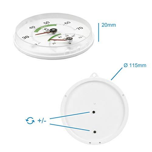 Sauna Kombi Thermometer für Infrarotkabinen - 4