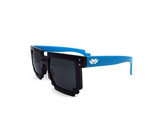 Gafas Pixel - Negra con patilla azul