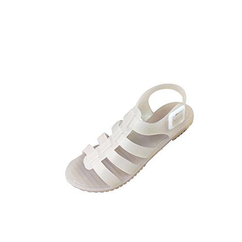 Jelly sandal en été/Bottes de fond plat antidérapante plage A