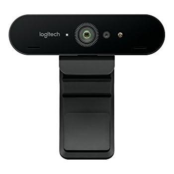 Logitech BRIO Webcam Ultra HD per Videoconferenza, Registrazione e Streaming