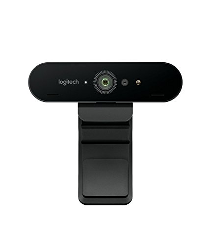 Logitech BRIO Webcam Ultra HD per Videoconferenza, Registrazione e Streaming