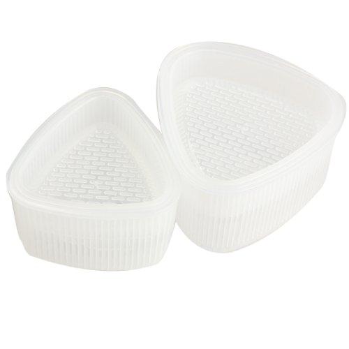 Tenflyer® 2 Pair Triangle Sushi Mold Rice Ball Maker Sushi-Reis-Kuchenpresseform Maker