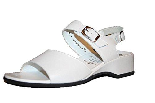 Ganter Juwel Comfort 3550104–Scarpe, Weite E, Sandali donna Bianco