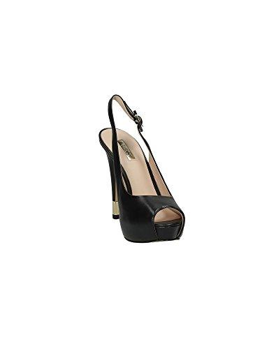 Noir Noir GUESS à sandales Femme Escarpins Pumps lanières SYS4O0U