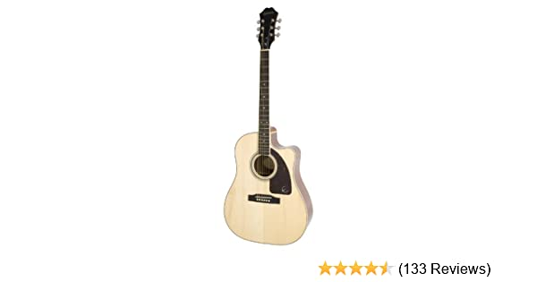 Guitarras electroac/ústicas Epiphone EJ-200SCE color vintage sunburst