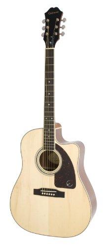 Epiphone AJ-220SCE - Guitarras electroacústicas, color natural