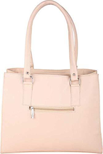 JSPM Women's Adjustable Strap Cream Handbag Image 4