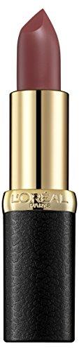 L'Oreal Paris Color Riche Matte Addiction Lipstick, Mahogany Studs, 4.8g
