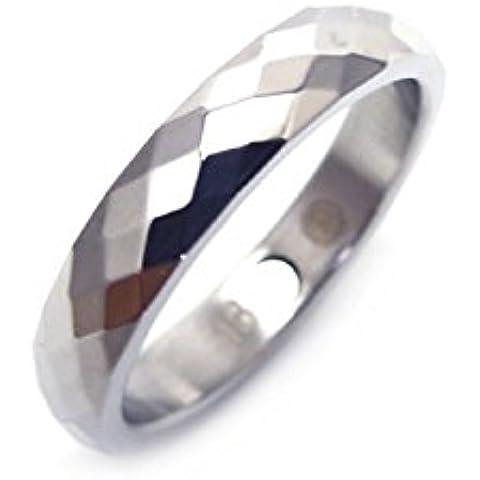 Anello Giochi di Luce Magnetico Energetix 4you 266 Sfaccettature taglio diamante Fashion anello nuziale taglia 16 a 21