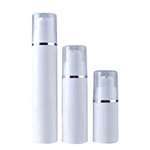 YYF BPA Frei TSA Genehmigt Reiseflasche Sets Dicht Nachfüllbar Make Up Kosmetik für Flüssige Lotion Container 0,5/1/1,7 unze (1 Unze Lotion)