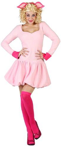 ATOSA 22993 - Schwein Kostüm, Größe M-L, rosa