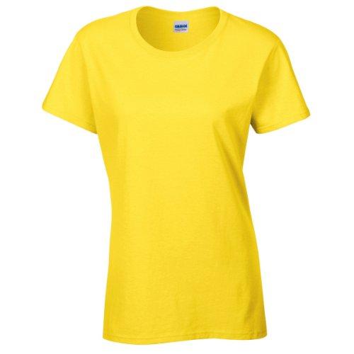 Gildan - T-shirt à manches courtes coupe féminine - Femme Rose