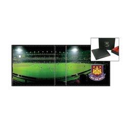 West Ham Football Club Portefeuille - Cadeau Pour Un Fan Du Sport
