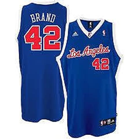 Los Angeles Clippers desdoblarás baloncesto de la NBA camiseta - marca #42 - Mens Wallfillers - NWT