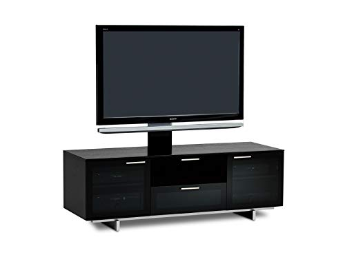Bdi Avion Noir 8937 Premium AV Cabinet for TV - Black