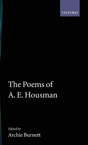 The Poems of A. E. Housman (Oxford English Texts) for sale  Delivered anywhere in UK
