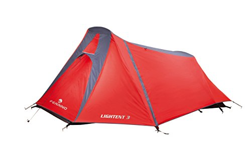 Ferrino lightent 3-red - 3 personnes-léger compact tente tunnel 3 personnes Rouge...