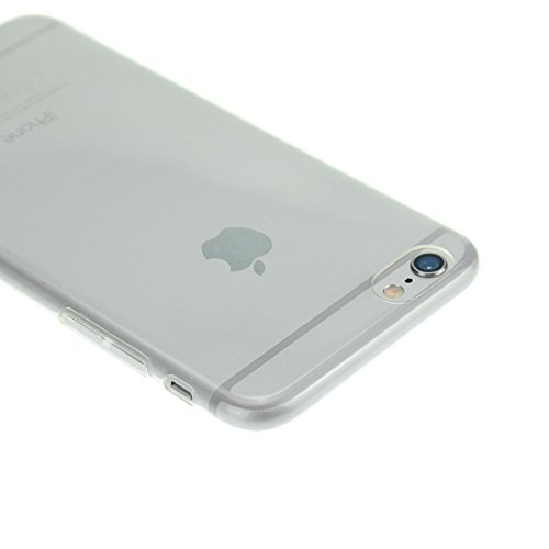"doupi UltraSlim Case iPhone 6 6S 4,7"" Ultra Mince Housse Coque, Transparent Transparent"