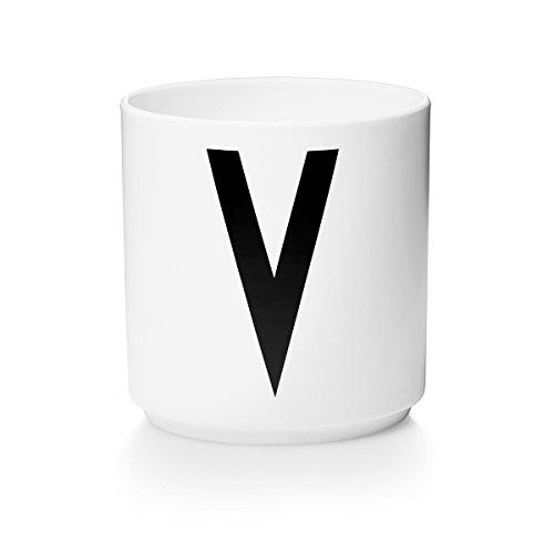 Mug V in porcellana. Design Arne Jacobsen.