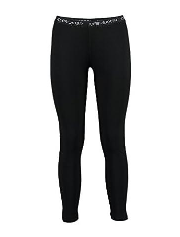 Icebreaker Women's Vertex Merino Leggings - Black, Large