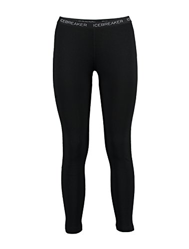 Icebreaker Damen Funktionshose Vertex Leggings, Black, XL, 100526001