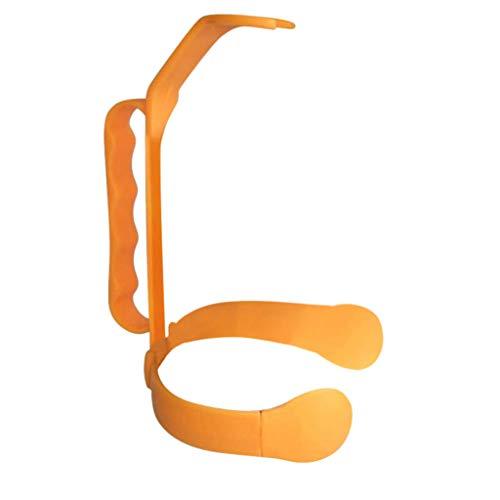 Tianya Universal Flaschengriff fügt Griff zu 1 und 2 Liter Flaschen-Auslauf-Flasche Hinzu,Allzweck Getränkeflaschengriff WasserGgießen Griff (Orange)
