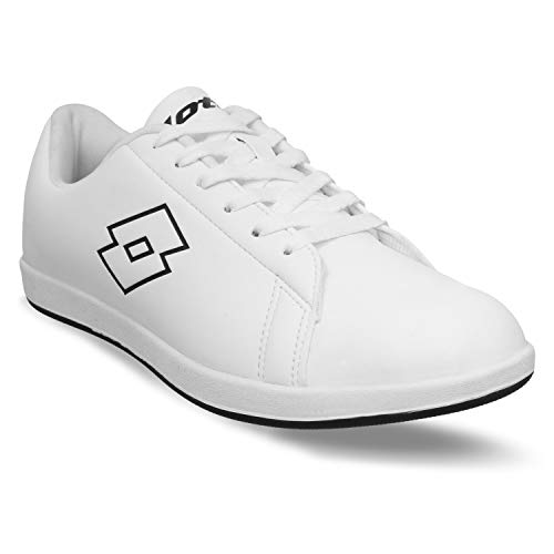 Lotto Men's Plump II White/Blk Running Shoes