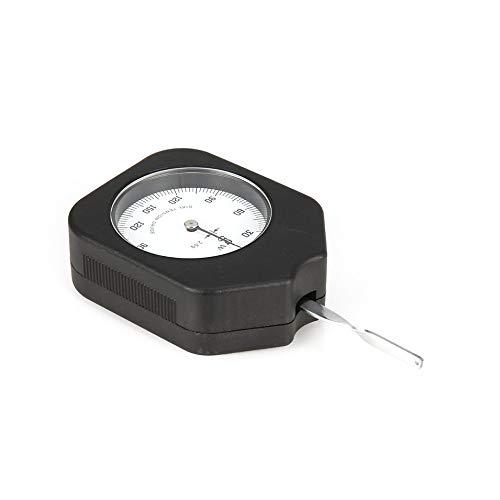 HermosaUKnight Tester del tensiometro analogico di 150g Tester del Tester del Calibro di Tensione Tester dinamometrico-Nero