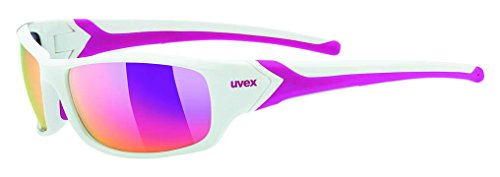 UVEX Sportstyle 211 Sportbrille, White Pink, One Size