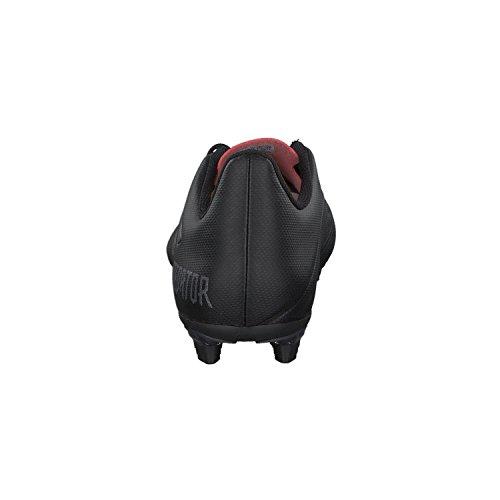 adidas Predator 18.4 FxG, Chaussures de Football Homme Noir (Core Black/utility Black F16/real Coral S18)