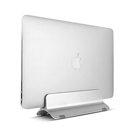 Aluminum Macbook Stand Laptop Stand Notebook Stand Vertical Desktop Stand for Up to 15