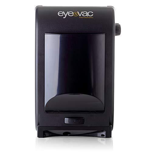 EyeVac Professional elektronischer Mülleimer Abfalleimer Sensor automatischer Staubsauger 1400 Watt 6,2L (schwarz)