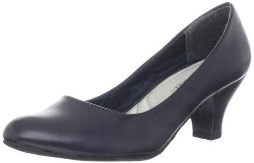 Easy Street Fabulous Synthétique Talons New Navy