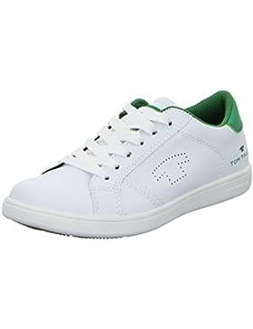 Tom Tailor Mädchen und Jungen Sneaker in weiß grün