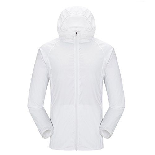 aisi-unisex-lightweight-water-repellent-skin-coat-sun-protection-outdoor-hooded-jacket-white-xxl