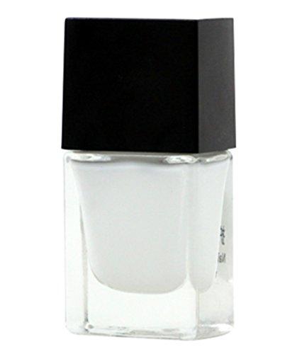 GODHL colle déversement de vernis à ongles peut se déchirer crème pour la peau Nail Art Liquid Palisade Carré Blanc 10ml