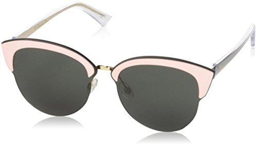 Dior Damen DIORUN QT BKL 65 Sonnenbrille, (Rose Gold Pink Green)