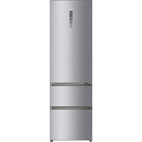 Haier A3FE737CMJ 70/30 Frost Free Fridge Freezer - Stainless Steel