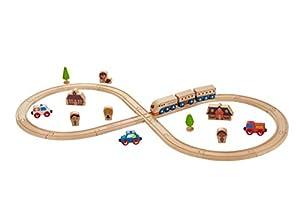 EverEarth- Conjunto DE Tren-Figura 8, (EE33664)