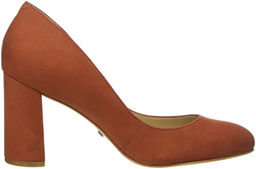 Buffalo London ZS 6112-15 Nobuck, Scarpe Col Tacco Donna Marrone (Braun (Brown471))