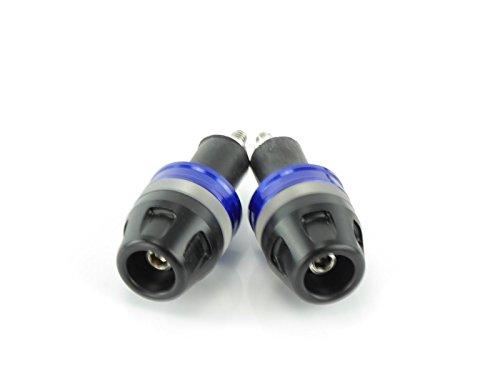 Preisvergleich Produktbild Lenkerenden Alu CNC blau Cagiva PLANET 125 PLANET-125 1998-2003
